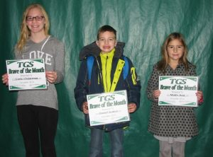 December Students of the month 2014